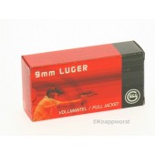 GECO 9mm Para SpecialSelection Vollmantel Rundkopf - FMC  8g.