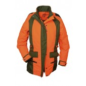 Hubertus Dog Keeper Damenjacke orange/oliv