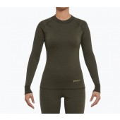 3in1 Merino Damen Shirt grün